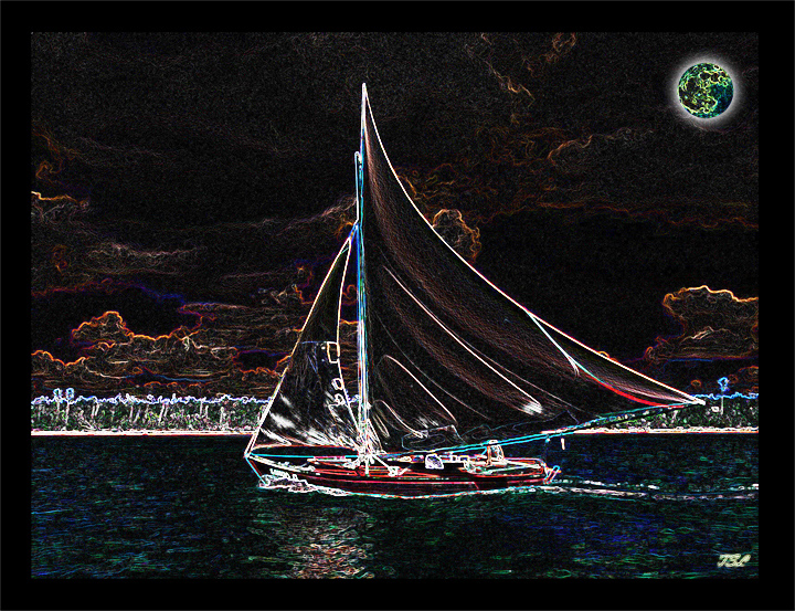 moonlit sailboatSMW2